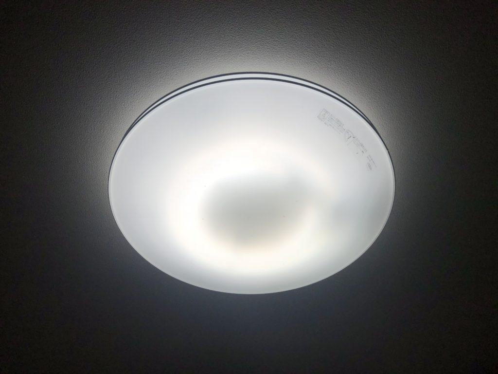 シーリングライト(蛍光灯)すぐ消える原因を解決