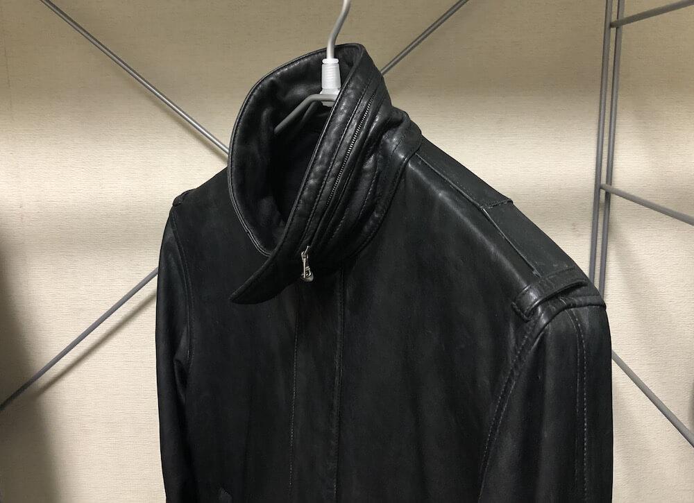 レザージャケットの保管方法