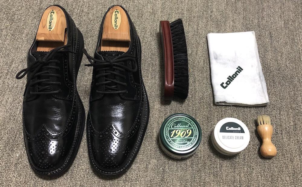 靴磨きの頻度