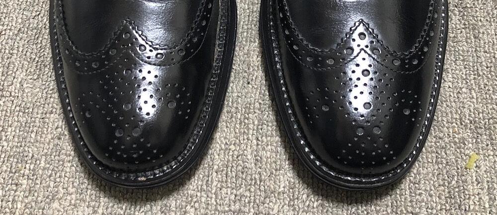 靴磨きのやりすぎ